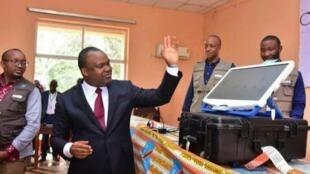 Mwenyekiti wa Tume ya Uchaguzi DRC, Corneille Nangaa.