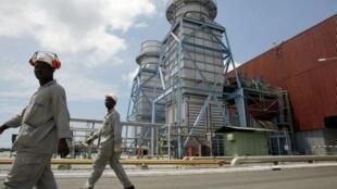L'Agence multilatéale de garantie des investissements a également apporté sa garantie à la centrale thermique d'Azito. Ici, en 2003.