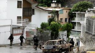 Venezuela - Cota 905 - Caracas - police