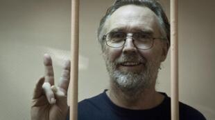 A justiça russa aceitou a libertação de Colin Russell, do Greenpeace, sob fiança.