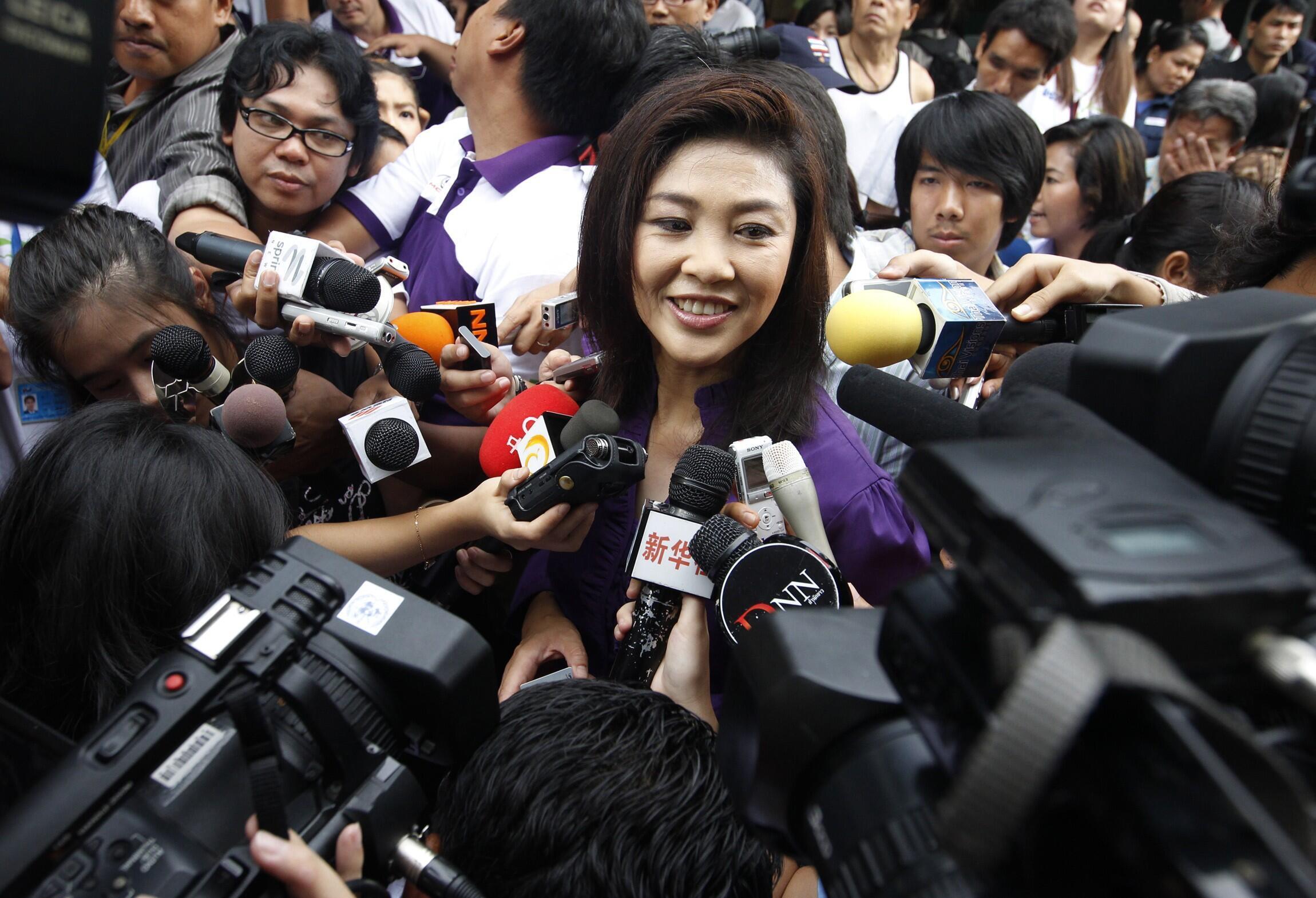 Yingluck Shinawatra mshindi wa kiti cha uwaziri mkuu wa Thailand