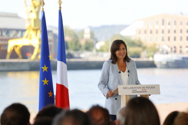 Anne Hidalgo à Rouen le 12 septembre 2021