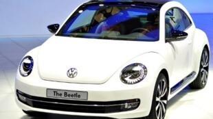 Malgré les références au mythique modèle, la «New Beetle» n'a pas eu le succès escompté.