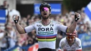 Peter Sagan venceu a edição 2018 da prova Paris-Roubaix.