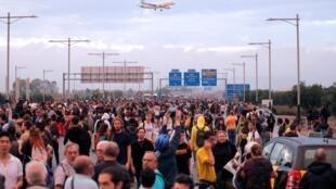 Mais manifestações de separatistas em várias cidades da Catalunha, em Espanha