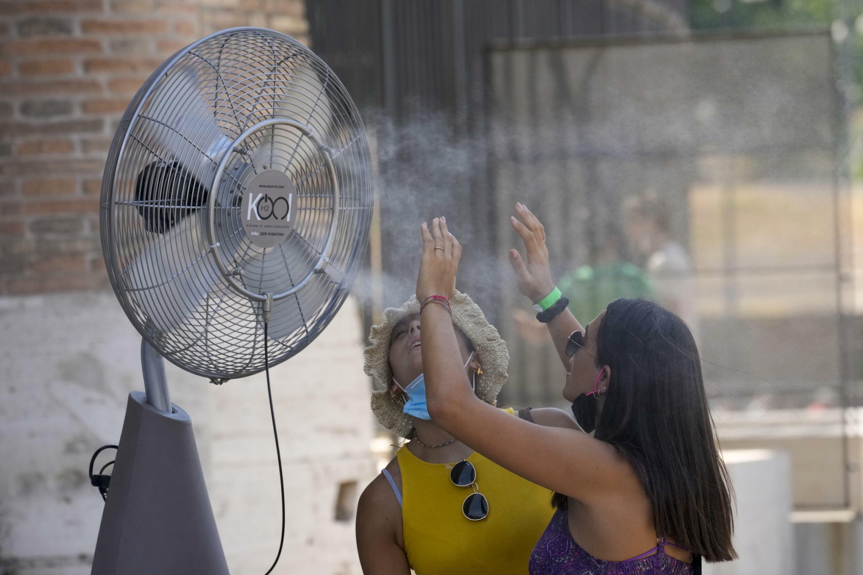 Italy Heat wave 2021