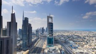 Une vue de Dubaï, aux Emirats arabes unis.