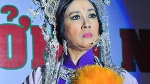 Nghệ sĩ Hà Mỹ Xuân và vai diễn Thái Hậu Dương Vân Nga.