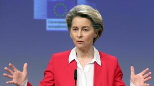 Union européenne - Ursula Von Der Leyen