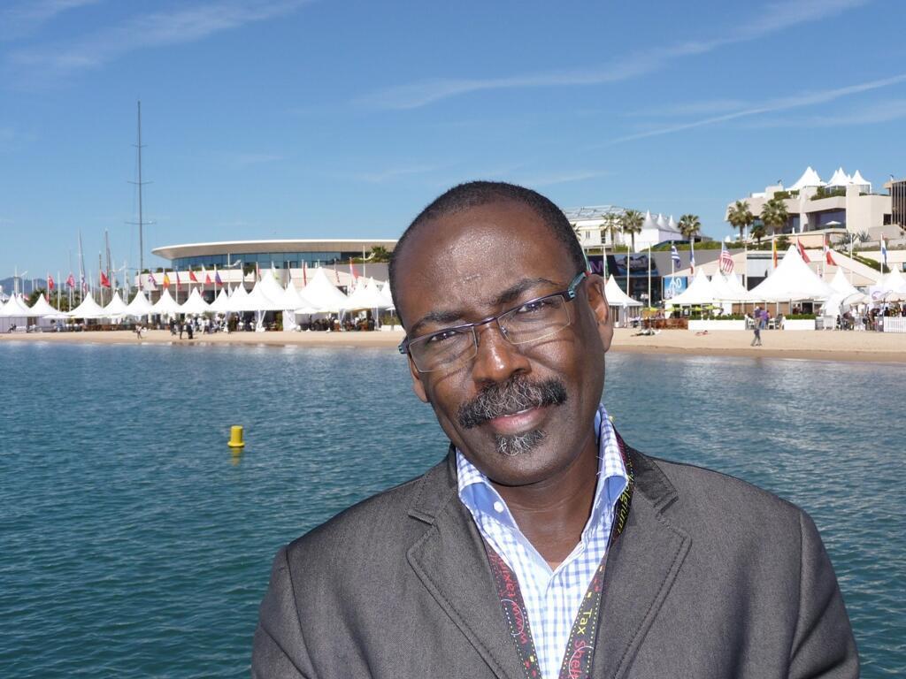 Mahamat-Saleh Haroun, réalisateur tchadien du film « Un homme qui crie ».