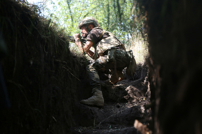 Ukraine's army has been battling fighters in two breakaway regions bordering Russia since 2014