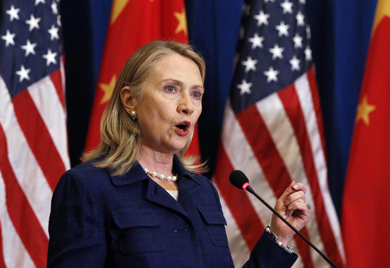 Хиллари Клинтон, Пекин, 4 мая 2012 года