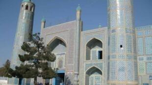 The Blue Mosque at Mazar-i-Sharif