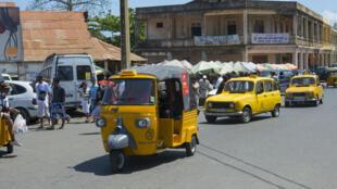 Des taxis malgaches.