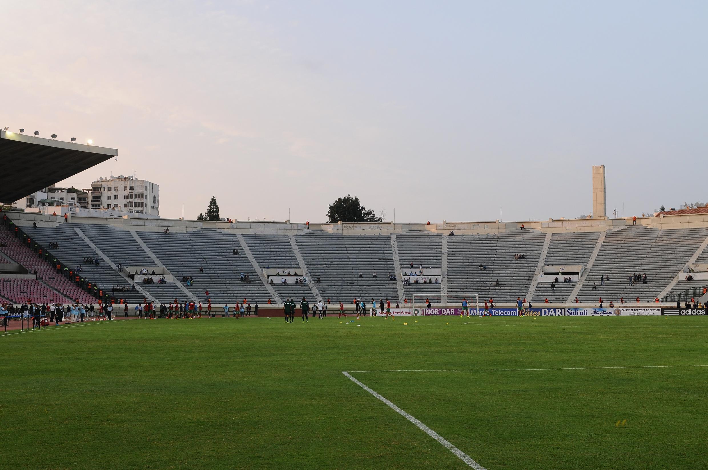 Le stade de Casablanca.