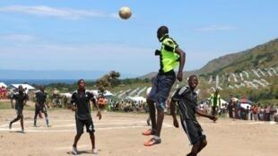 La troisième édition du tournoi de foot des Clubs RFI, dans le camp de Lusenda.