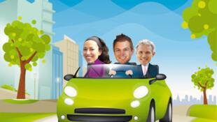 La idea de compartir el auto con otros -conocidos o no- está en pleno desarrollo.