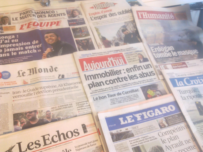 Diários franceses  12/06/2013