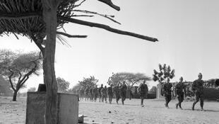 Opération «Limousin», Tchad, 1970.
