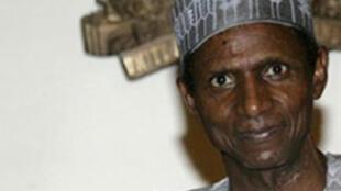 Le président  nigérian Umaru Musa Yar'Adua.