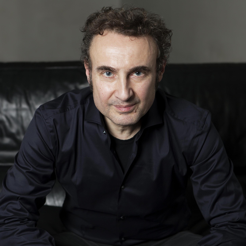 Portrait de l'écrivain Thierry Hesse, pour son nouveau livre «Le roman impossible» paru aux éditions de l'Olivier.