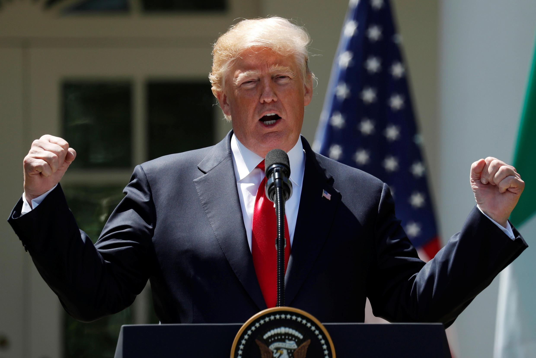 Shugaban Amurka mai barin gado Donald Trump