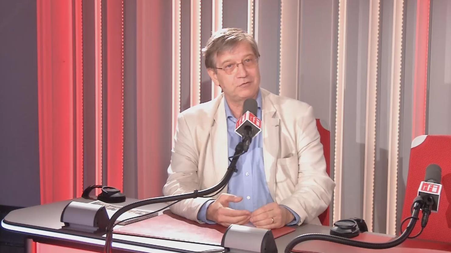 Olivier Da Lage journalist, author of Mr Singh's Rickshaw, interviewed by RFI, September 2019