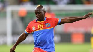 Le Congolais Neeskens Kebano, lors de la CAN 2017.