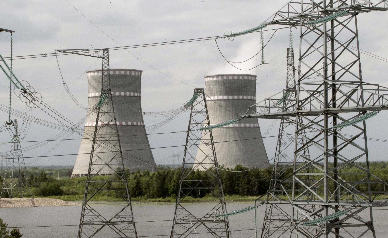 A usina nuclear russa de Kalininskaya.