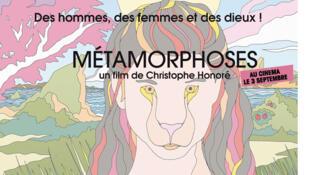 Affiche du film « Métamorphoses » de Christophe Honoré