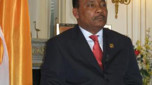 Le président nigérien Issoufou à Deauville le 27 mai 2011.