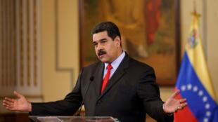 Nicolás Maduro: eleições antecipadas nas quais ele será o único candidato.
