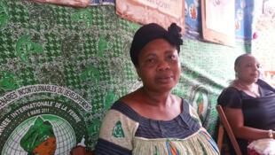 Pauline Sual, secrétaire caissière de l'Association camerounaise de microfinance SOS Women.