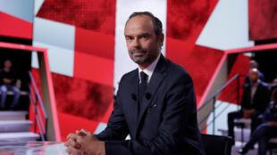 Le Premier ministre Edouard Philippe dans «L'Emission politique» sur France 2, le 28 septembre 2017.