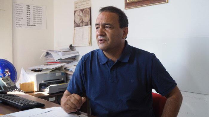 Domenico Lucano, le maire de Riace en Calabre.