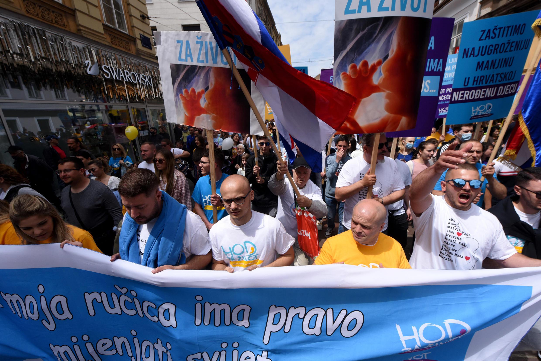 croatie manifestation avortement ivg