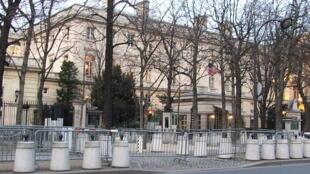 U.S Embassy building in Paris