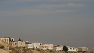 La colonie de Kfar Adumim, entre Jérusalem et Jéricho, en février 2007.