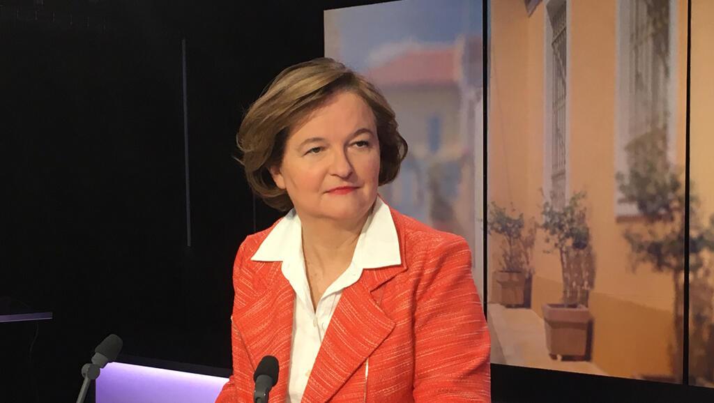 Nathalie Loiseau, ex-ministra dos Assuntos Europeus  da França e cabeça de lista do partido LRM para bas eleições europeias  de Maio próximo.