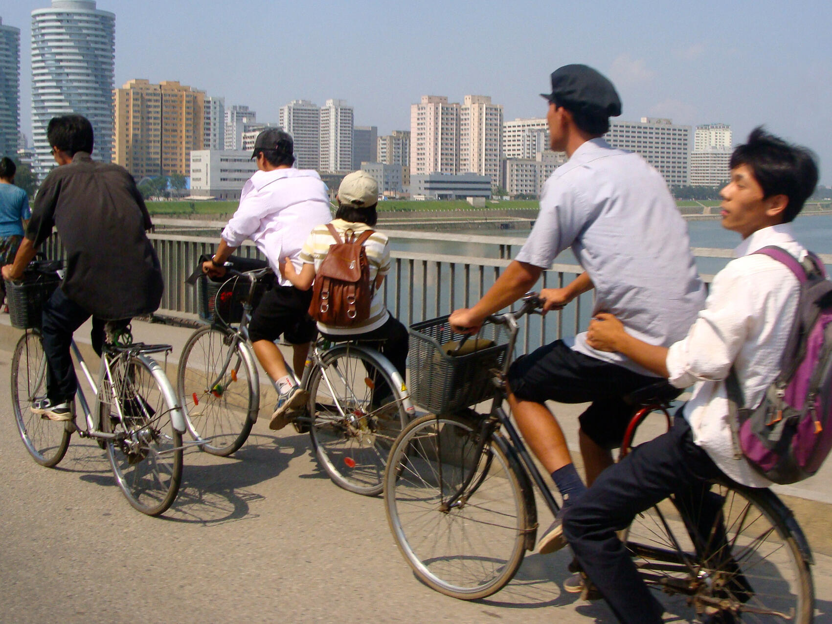 La capitale nord-coréenne Pyongyang compterait quelque 2,5 millions d'habitants.