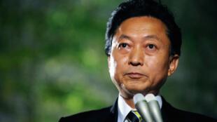 Yukio Hatoyama, nouveau Premier ministre japonais, pendant une conférence de presse à Tokyo, le 17septembre 2009.