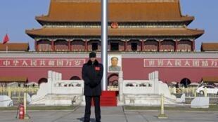 北京天安門廣場2015年12月1日