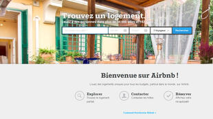 La page d'accueil du site Airb'nb, la société qui met en relation loueurs de chambres et clients, pèse aujourd'hui 10 milliards de dollars. C'est plus que le groupe hôtelier Hyatt.