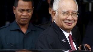 Thủ tướng Malaysia Najib Razak  tại Kuala Lumpur ngày 26/01/2016.