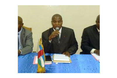 Souleymane Diabaté, représensant de l'Unicef en République centrafricaine.