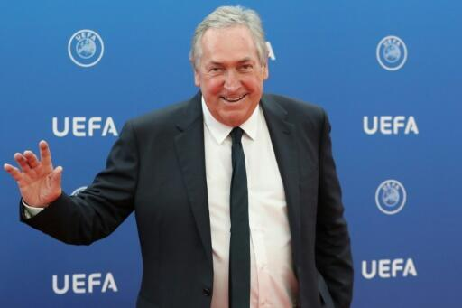 The former coach of PSG, Liverpool and Lyon Gérard Houllier.