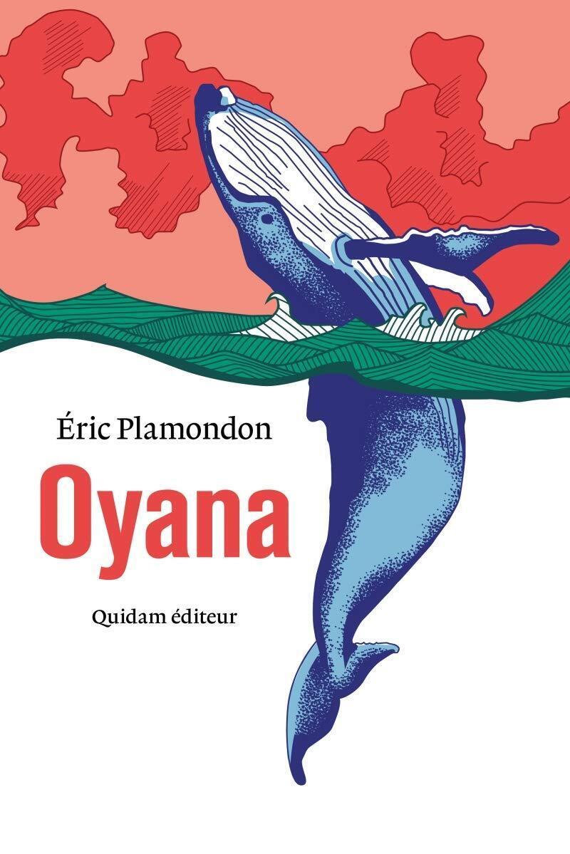 Couverture du nouveau roman de l'écrivain québécois Eric Plamondon