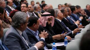 Le Parlement jordanien en discussion, le 6 décembre 2017.