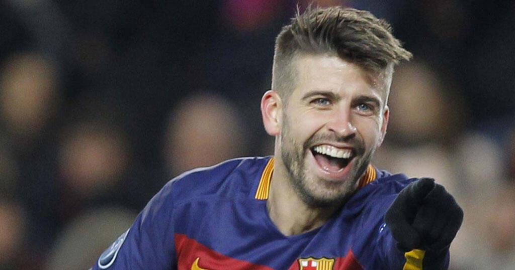 Gerard Piqué, defensa del FC Barcelona y de la selección española.