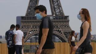 Le port du masque obligatoire concernera les zones très fréquentées.